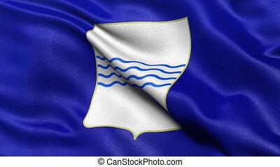 drapeau, seamless, boucle, basilicata