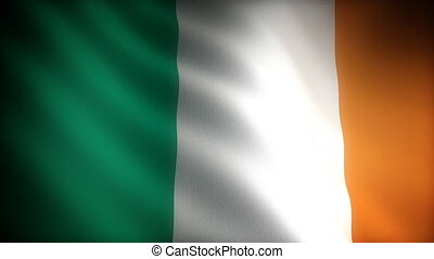 drapeau, (seamless), irlande