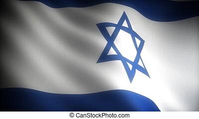 drapeau, (seamless), israël