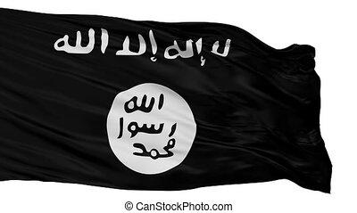 drapeau, shabab, isolé, boucle, seamless
