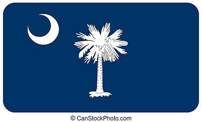 drapeau, sud, Caroline