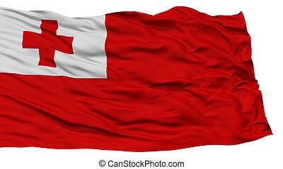 drapeau tonga, isolé