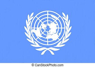 drapeau, uni, dessin, nations