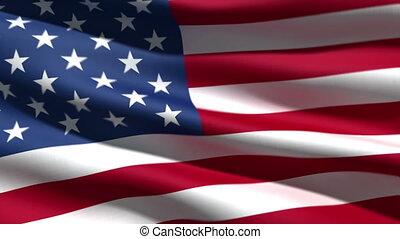 drapeau, usa, fond