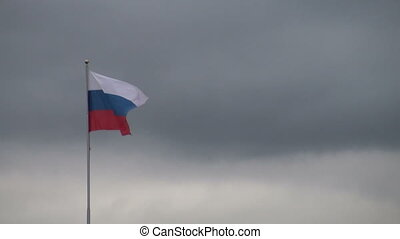 drapeau, vent