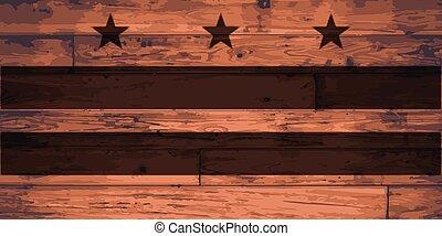 drapeau, washington dc, marque