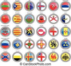drapeaux, de, les, europe.
