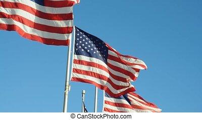 drapeaux, nous