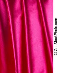 drapery., 絹, ピンク