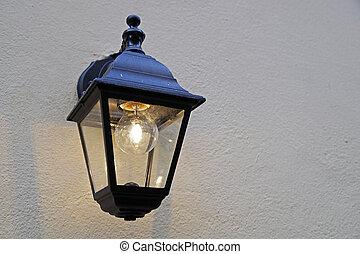 Wand, lampe, draußen Stockfoto - Fotografien und Clipart Fotos ...
