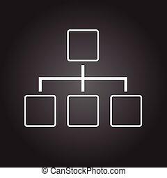 draw black vector illutration