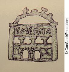 Emerita Augusta Roman City Door - Draw of Emerita Augusta ...