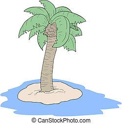 Draw palm