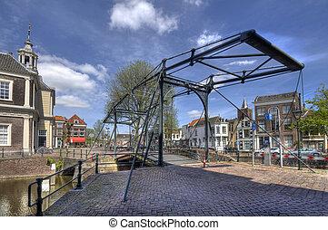 Drawbridge in Holland