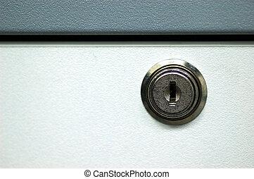Drawer Lock - A drawer lock