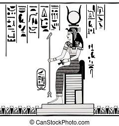 drawing., 国民, エジプト人