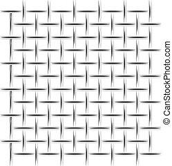 drawing., 金属, mesh., 防衛, 簡単にされている, 背景, 記事, 白, 建設, ∥あるいは∥,...