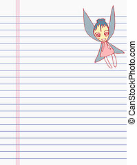 Drawing angle on paper