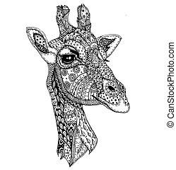 drawing animals anti stress - figure anti stress...