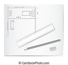 Drawing Architecture Sketch