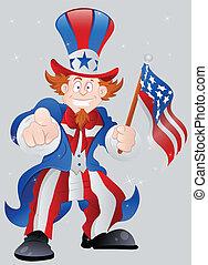 American Patriotic Uncle Sam