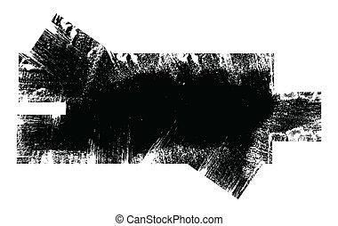 Grunge Dirty Overlay Shape Vector