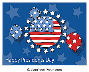 Happy Presidents Day Design