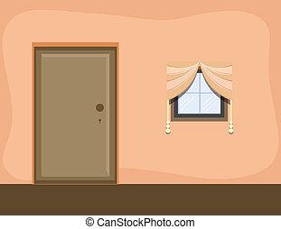 Room Interior - Cartoon Background