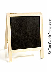 Drawing board with chalk