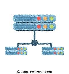 drawing data server computer storage system