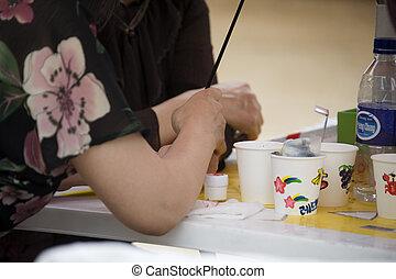 Drawing, Hand