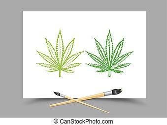 drawing hemp drug lesson