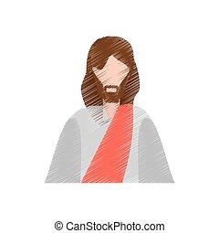 drawing jesus christ christianity