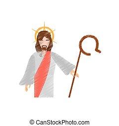 drawing jesus christ resurrects
