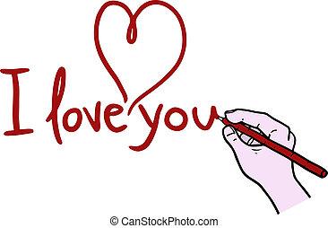 Drawing love