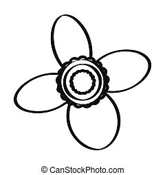 Drawing of a flower
