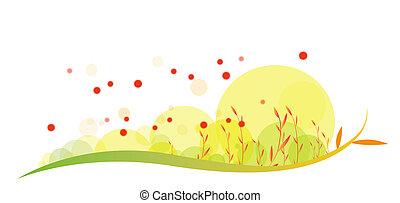 dandelion - drawing of beautiful dandelion in a white...