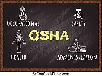 OSHA - Drawing of illustrations about OSHA - Occupational ...