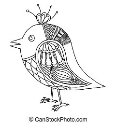 Drawing of little bird