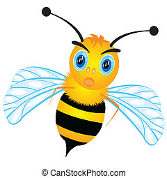 Drawing of the bee