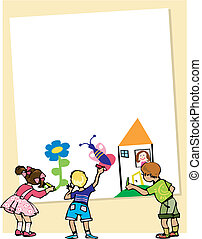 Drawing on Mother\'s day - Kids draw for Mother