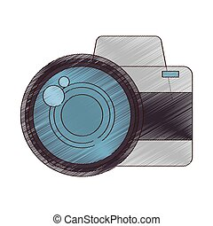 drawing photo camera picture vacation travel