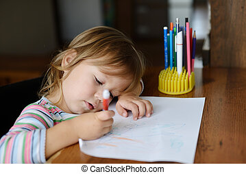 drawing toddler
