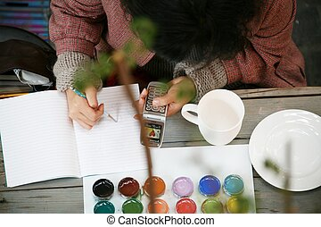 Drawing,Hand