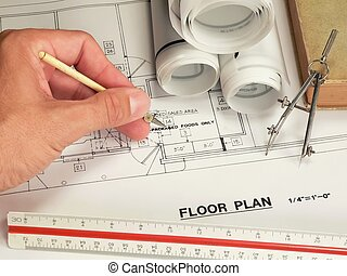 Drawings - An architects design