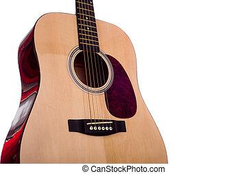 Dreadnought Guitar on White