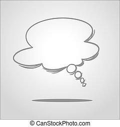 Dream Balloon - Vector illustration of dream balloon in...