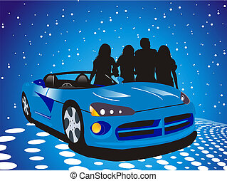 dream car - car Illustrations