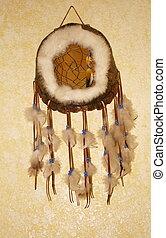 Dream Catcher - A Native American turtle shell dream catcher