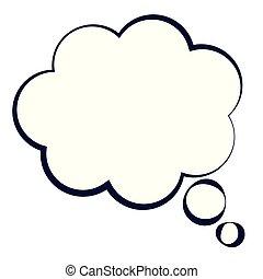 dream cloud pop art style